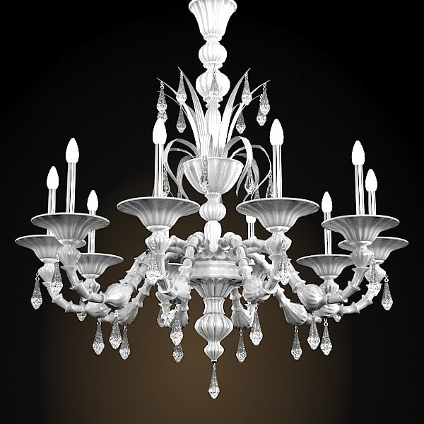 murano glass crystal classic chandelier barovier toso white.jpg