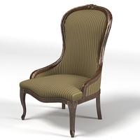 savio firmino classic armchair chair  3025a