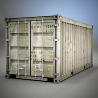 Old Shipping Container Short