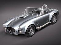 3d shelby cobra s c model