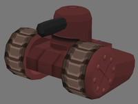 3d toon tank