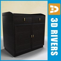 Wooden cabinet by 3DRivers