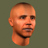 3ds obama head