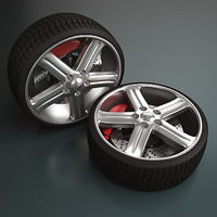 Tuning Wheel - Rim and Tire