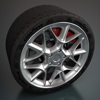 zagato wheel 3d max