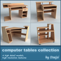 Collection of pc tables