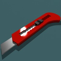 box cutter 3d model