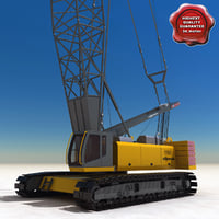 Crawler Crane Sennebogen 5500
