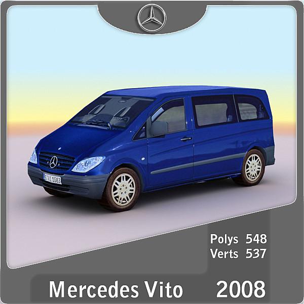 2008 Mercedes Vito