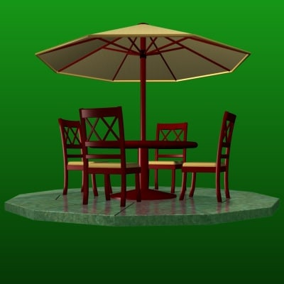 FR Patio Set