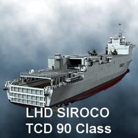 lhd siroco tcd 90 3d model