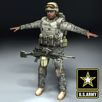 US_Army_Infantry_3DModel