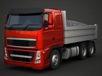 fh dumptruck 3d model