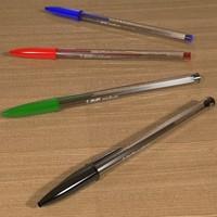 3d bic biro pen model