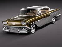 3d model chevrolet impala bel air