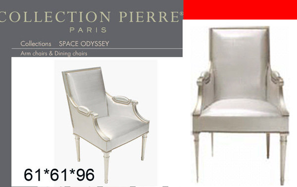 collection pierre space odyssey classic armchair chair