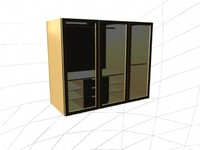 3d model hd cupboard 2