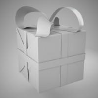 3d model gift