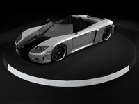 3d model koenigsegg ccx speedster