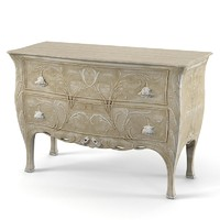 Chelini classic ecriere chest of drawers bureau