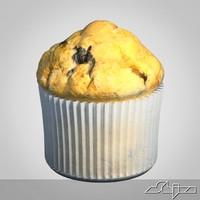 3d model little cake
