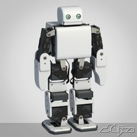 3d model bluetooth robot plen