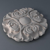 3d decor wall ornament model