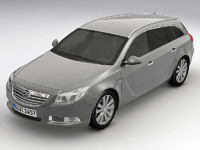 2010 Opel Insignia Sports Tourer(1)