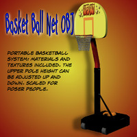 basket ball obj