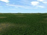 plains landscape scenes 3d model
