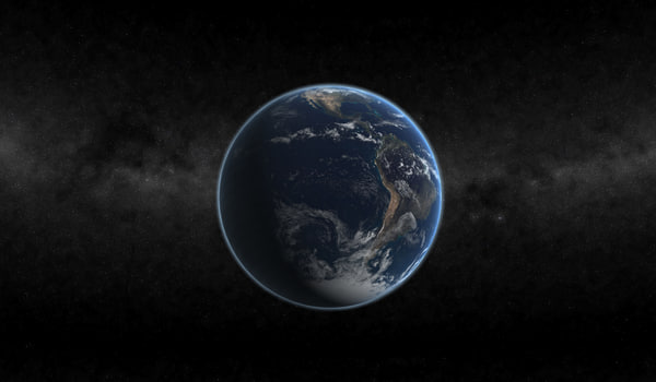 planet earth 3d model - Planet Earth... by McKaners