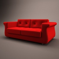 3ds 2seat couch seat
