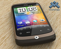 htc wildfire 3d model
