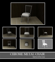50017 Chrome Metal Chair