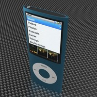 ipod nano 5 3d model