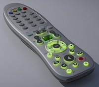 3d media center remote control