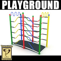 3d playground ground