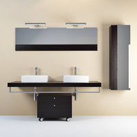 3d model regia plaza bathroom furniture