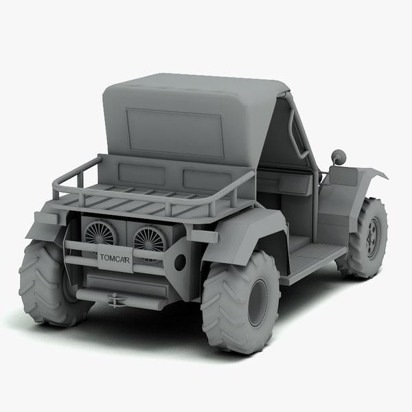 tm2 vehicles 3d model