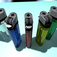 3dsmax mecheros lighters