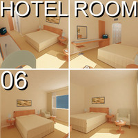 Hotel Guest Room 06