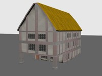 Three Story medieval house