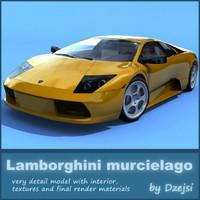 Lamborghini murcielago + materials