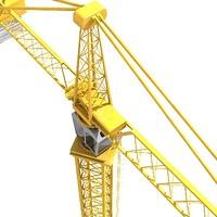 crane construction 3d model