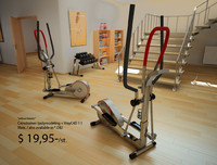 3d crosstrainer trainer