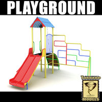 3d dxf playground ground