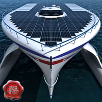 PlanetSolar Solar Powered Boat
