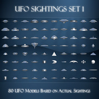 UFO Sightings Set 1