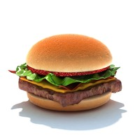 fast food package 3d model