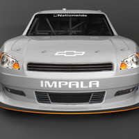 chevy impala cars 3d model